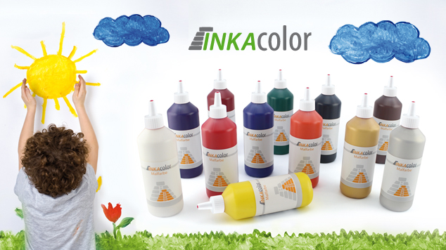 INKAcolor Farb-System mit universeller Malfarbe