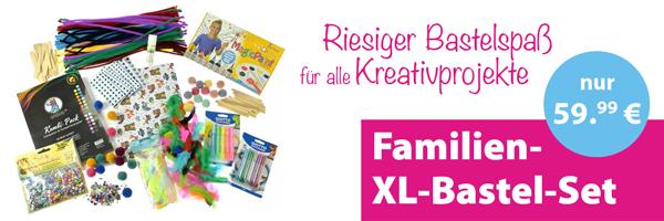 Bastel-Familien-Set