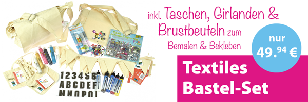 Textiles Bastel-Set