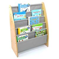 Bücherständer aus Holz für den Kindergarten