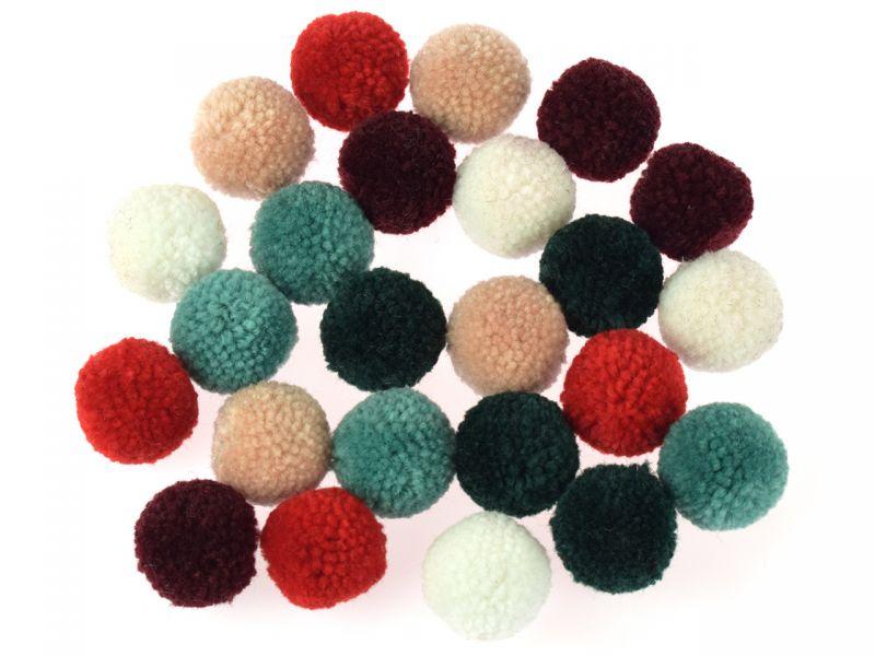 Folia Woll-Pompons Elegance