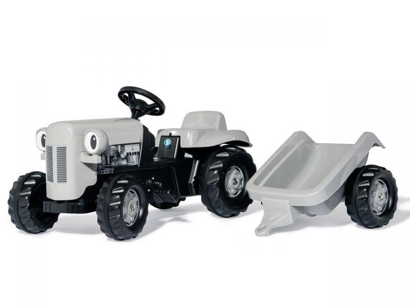 rolly toys rollyKid Little Grey Fergie, Traktor inkl. Trailer