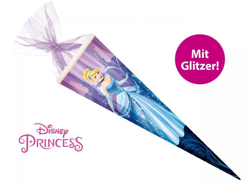 Schultute Disney S Princess Cinderella Mit Glitzer 85 Cm