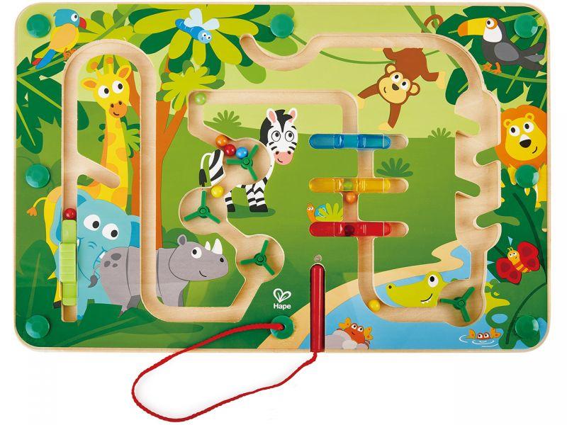 Hape Magnet-Labyrinth »Dschungel«