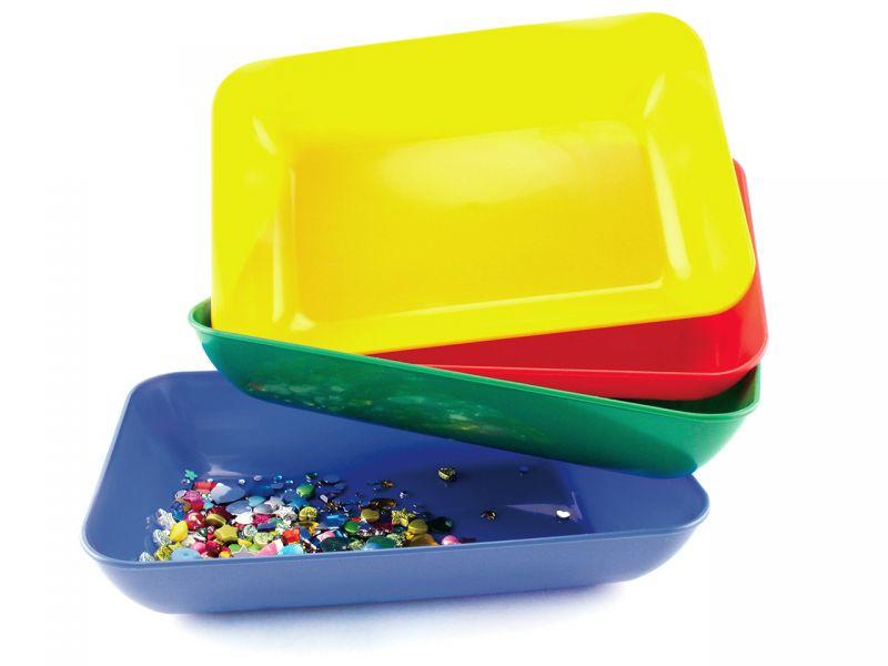 Materialschalen, 4er-Set