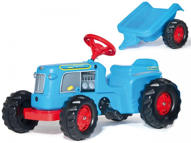 rolly toys traktor kiddy classic mit anh nger spielheld. Black Bedroom Furniture Sets. Home Design Ideas