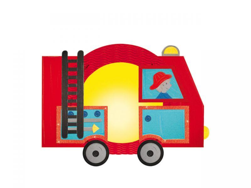 Laternen Bastelset Feuerwehr