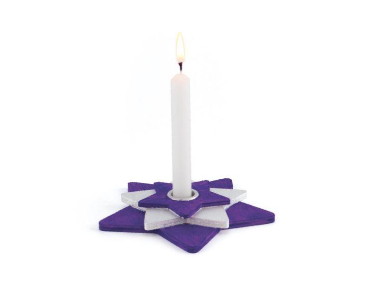 Kerzenhalter »Weihnachtsstern«
