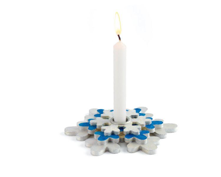 Kerzenhalter »Schneekristall«