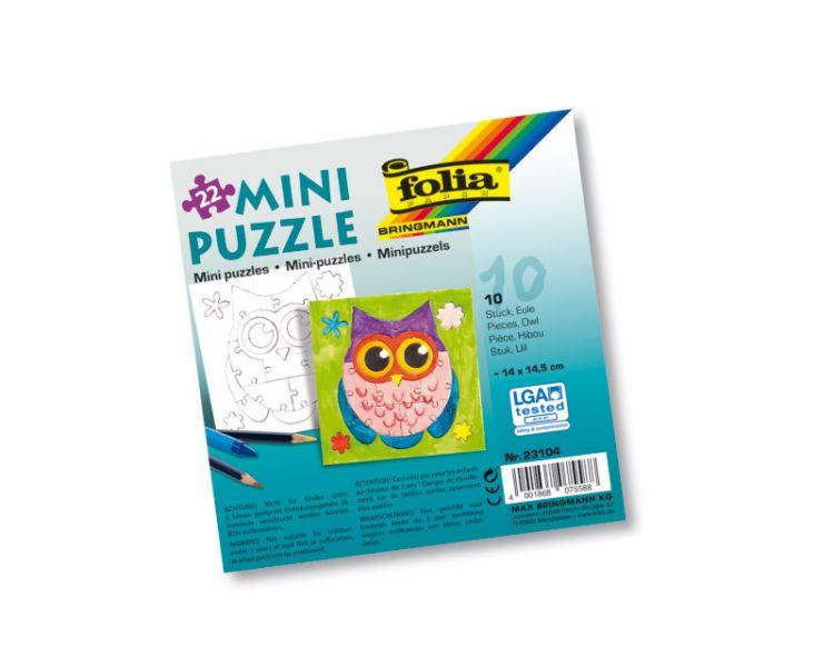 Mini-Puzzle »Eule«, 10 Stück