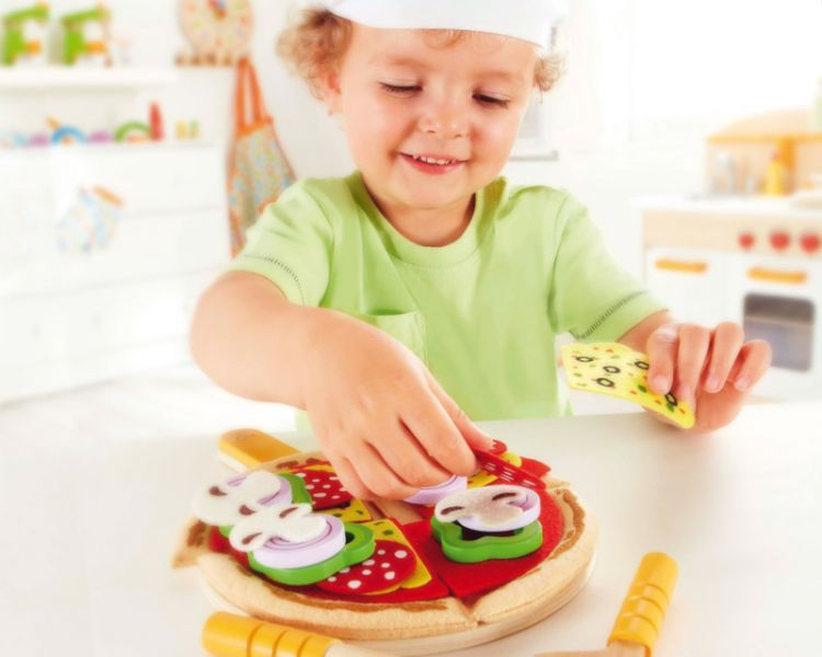 Hape Pizza-Set, 31-tlg.