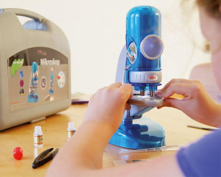 Mikroskop inkl. Zubehör