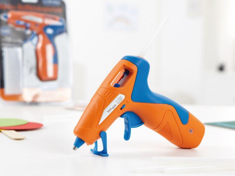 Akku-Heißklebepistole, inkl. 10 Klebesticks