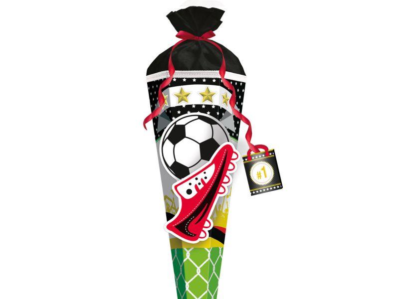 Bastel-Schultüte »Fußball Star«, 80 cm