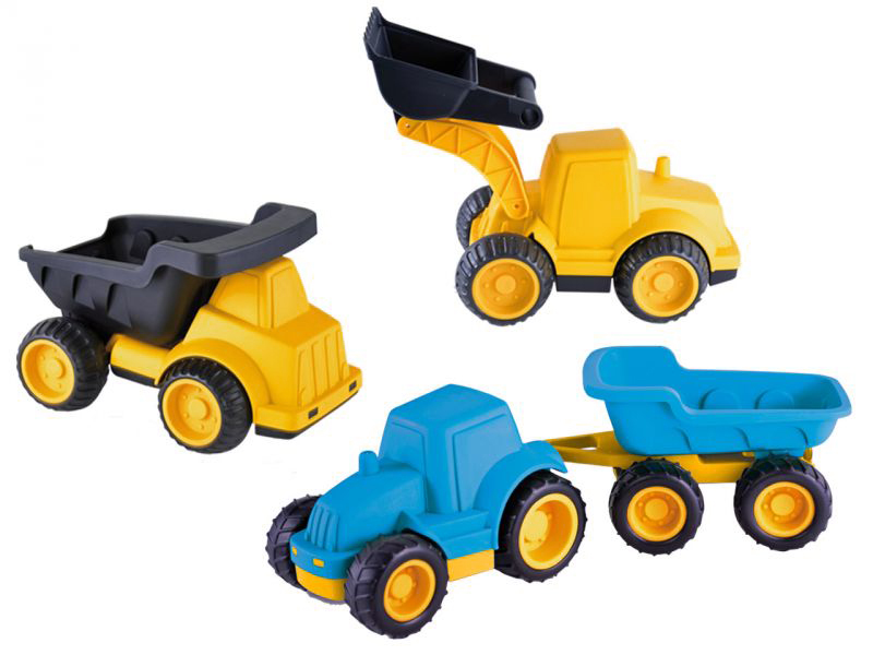 Spar-Set »3 Baustellenfahrzeuge«