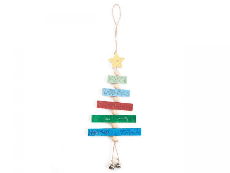 Baum-Windspiel »Holzstäbe«