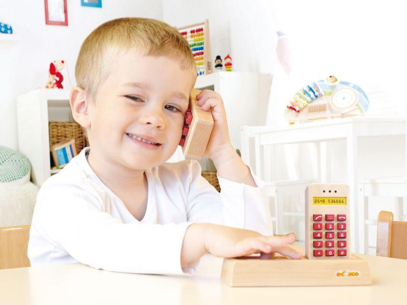 educo Rollenspiel-Telefon-Set