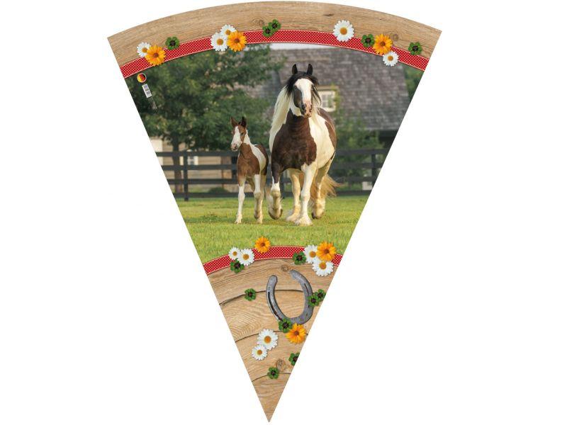 Schultüte »Pferdekoppel«, 70 cm