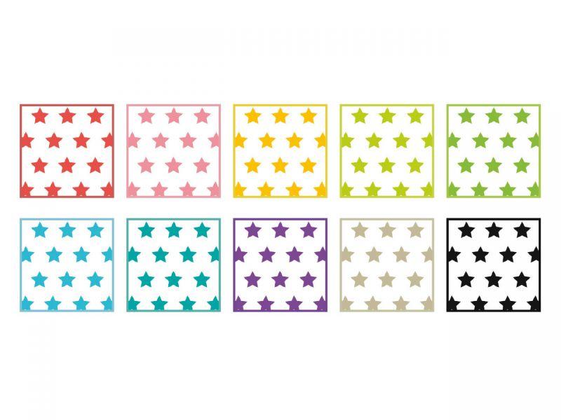 Fotokarton »Sterne«, 49,5 x 68 cm, 10 Bogen