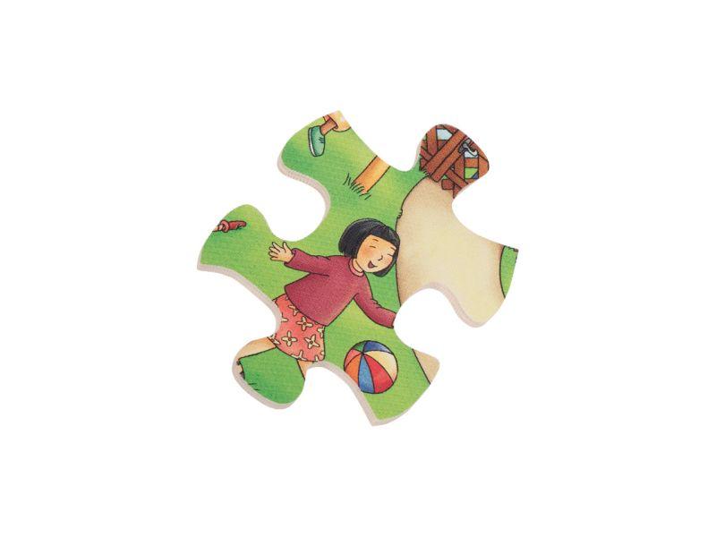 beleduc Rahmenpuzzle »Kindergarten«