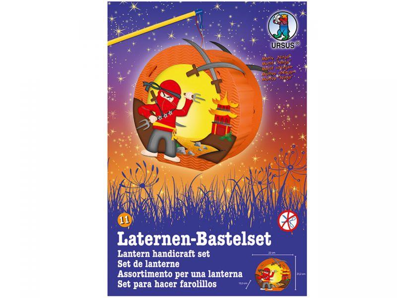 Laternen-Bastelset Easy Line »Ninja«