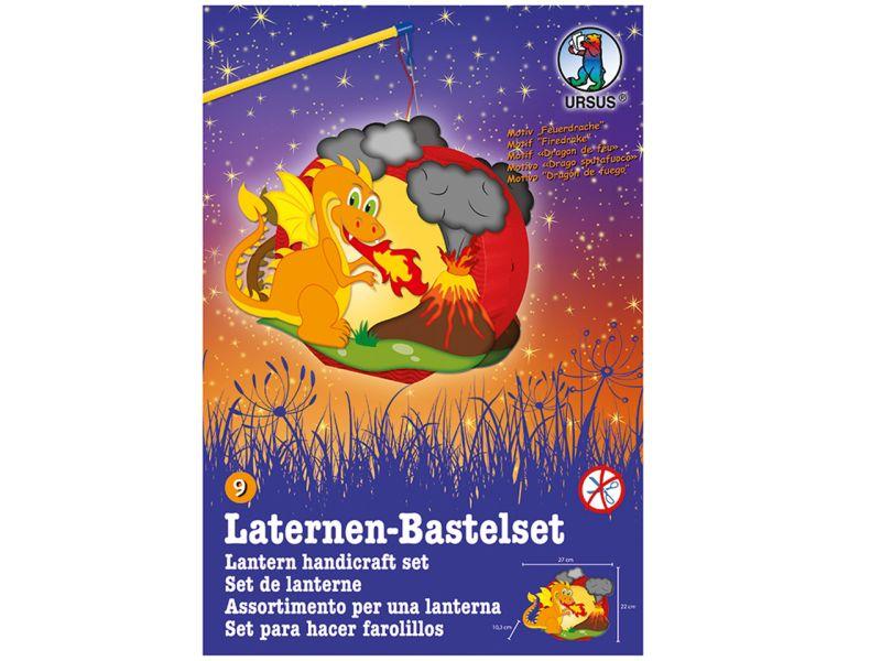 Laternen-Bastelset Easy Line »Drache & Vulkan«