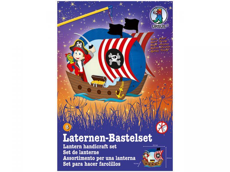 Laternen-Bastelset Easy Line »Pirat«