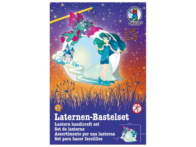 Laternen-Bastelset Easy Line »Elfe«