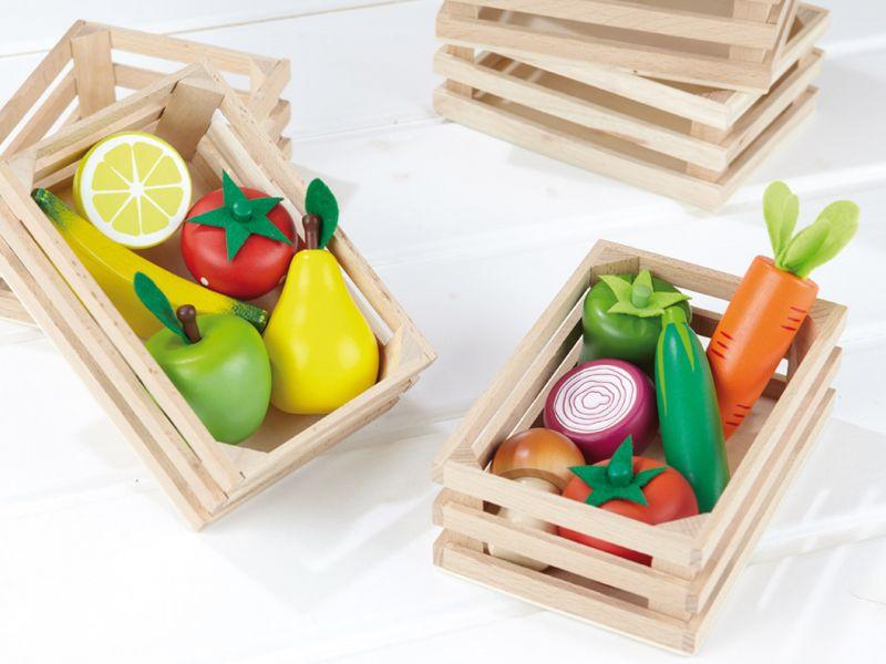 Obst- und Gemüsekiste, 13-tlg.
