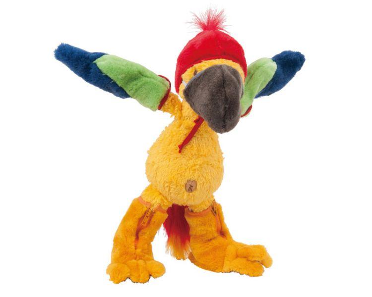 Querk »Drago« mit Papageien-Kostüm, Set inkl. Buch & CD