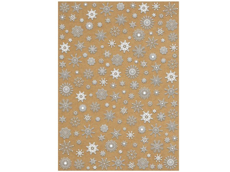 Designkarton Inspiration »Eiskristalle«, DIN A4, 5 Blatt