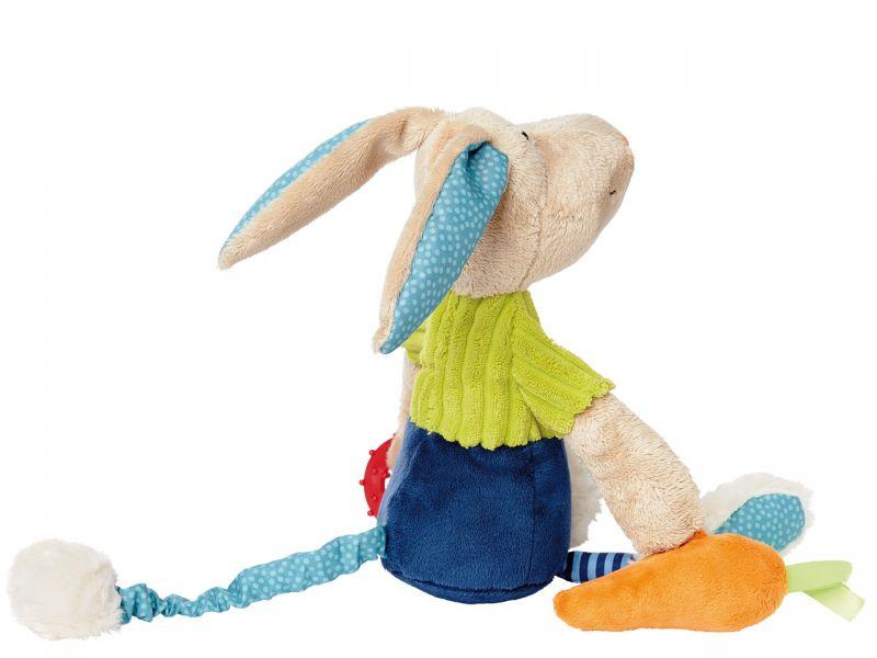 sigikid PlayQ Aktiv-Hase, 29 cm