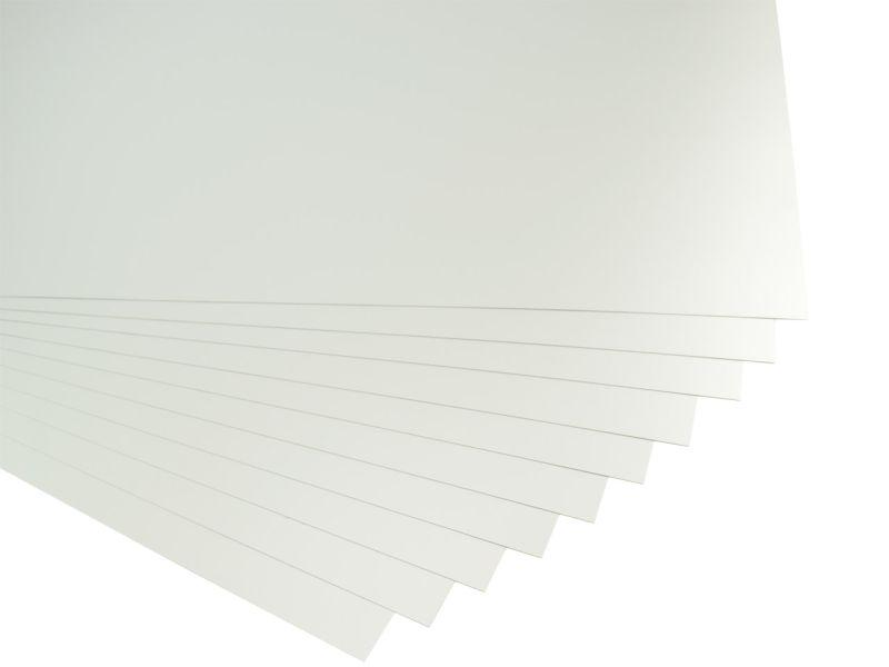 Folia Fotokarton, 50 x 70 cm, 10 Bogen, silber