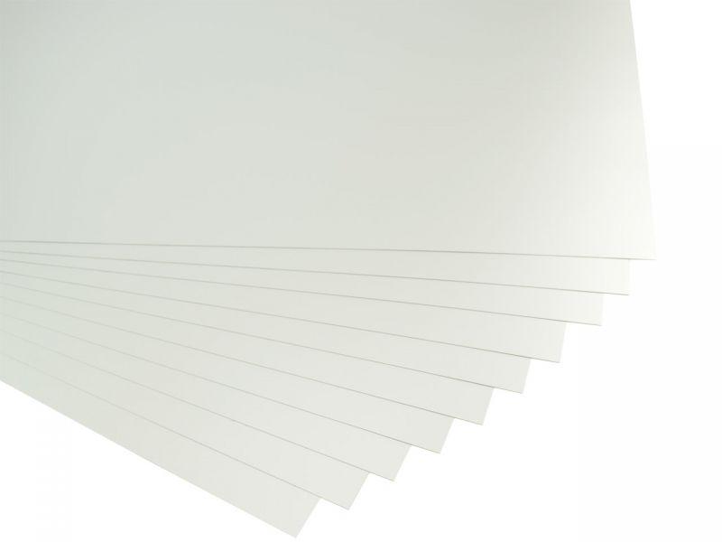 Folia Tonpapier, 50 x 70 cm, 10 Bögen, silber