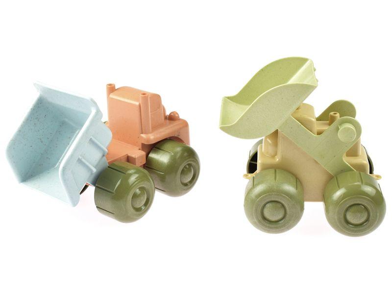 dantoy BIOplastic Handbagger und LKW
