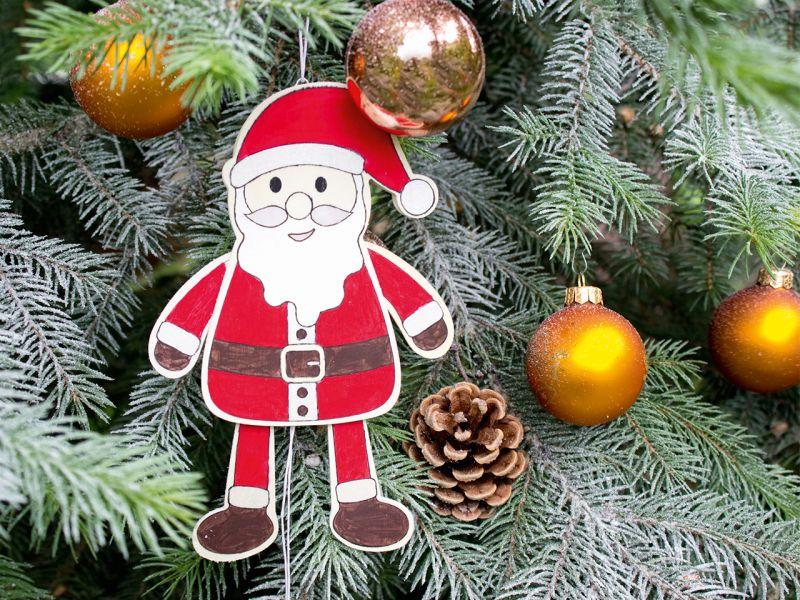 beleduc Hampelmann Weihnachtsmann