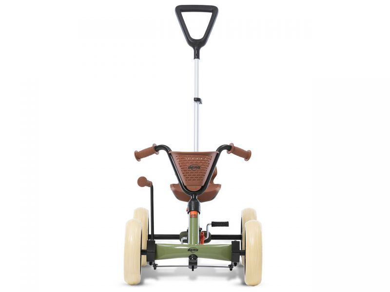 BERG Buzzy Retro 2-in-1 Green Pedal-Gokart
