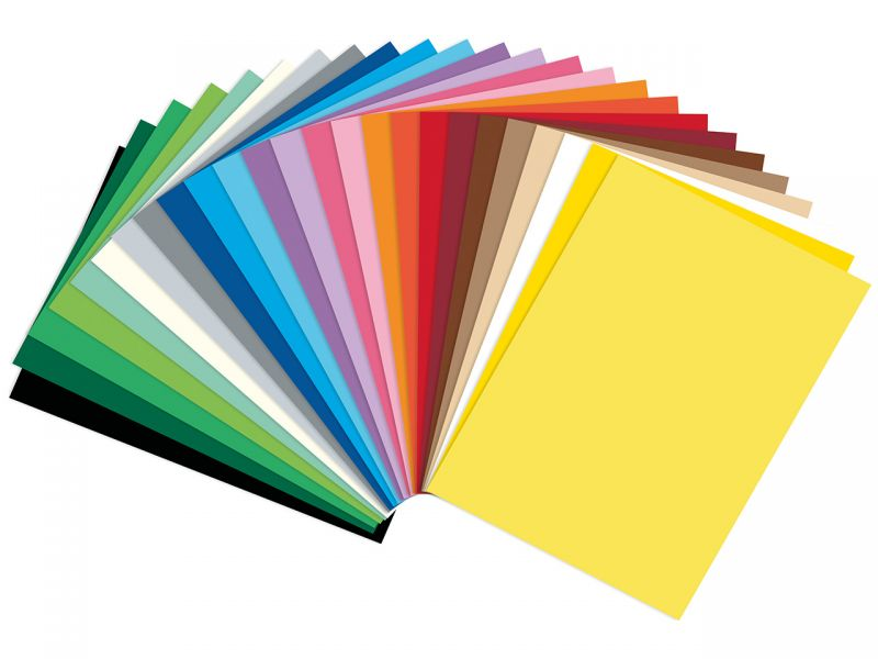 Folia Fotokarton, 25 x 35 cm, 25 Farben