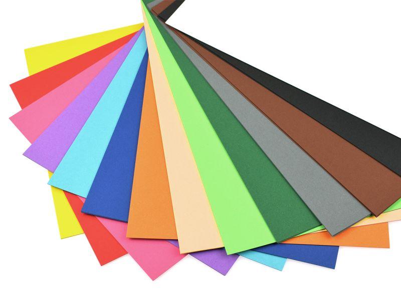 Fotokarton, 50 x 70 cm, 10 Bogen, Farbe wählbar