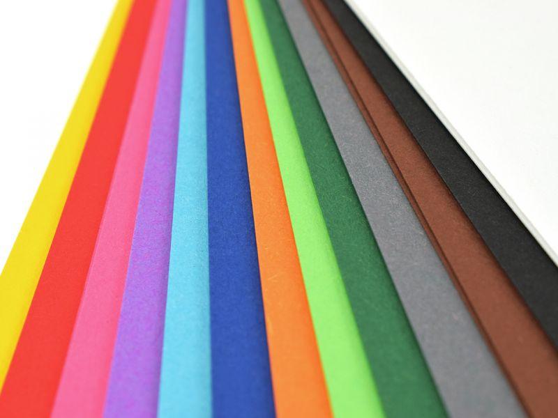 URSUS Tonpapier, 50 x 70 cm, 25 Bogen, Farbe wählbar