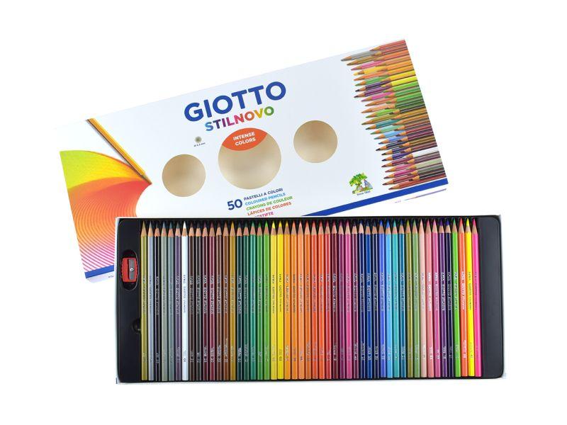 Giotto Farbstifte, 50 Farben