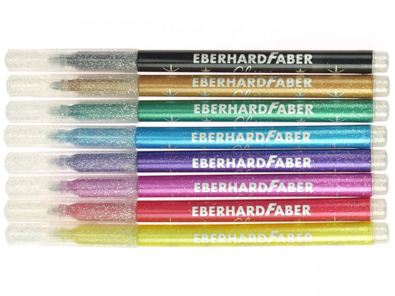 Eberhard Faber Glitzer Fasermaler Glitter