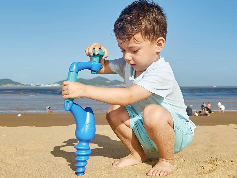 Hape Sandbohrer, blau
