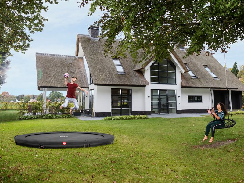 BERG Trampolin Favorit Sports InGround 330 Grey
