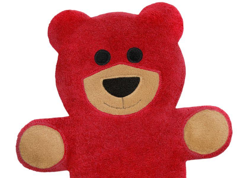 Leschi Wärmekissen »Der Bär Teddy«, Feuer