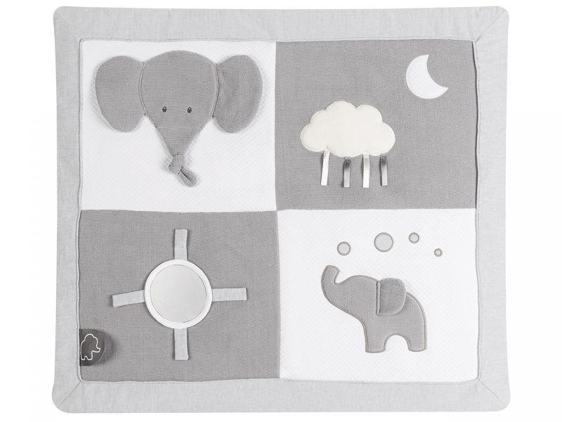 Nattou Tembo Elefant Krabbeldecke mit Bogen