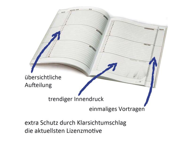 Hausaufgabenheft A5 »Schleich Bayala«