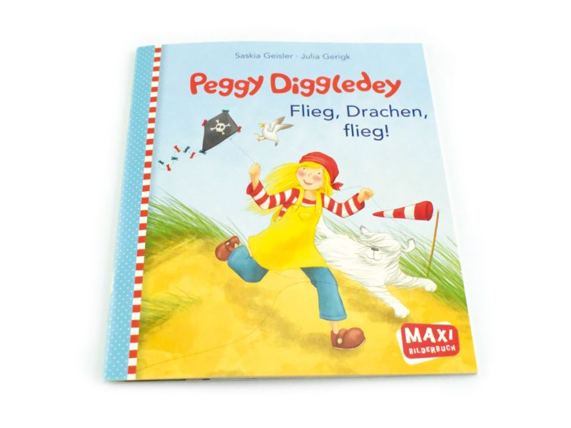 Peggy Diggledey Maxibuch »Flieg, Drachen, flieg!«