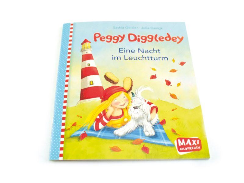 Peggy Diggledey, Maxibuch »Eine Nacht im Leuchtturm«