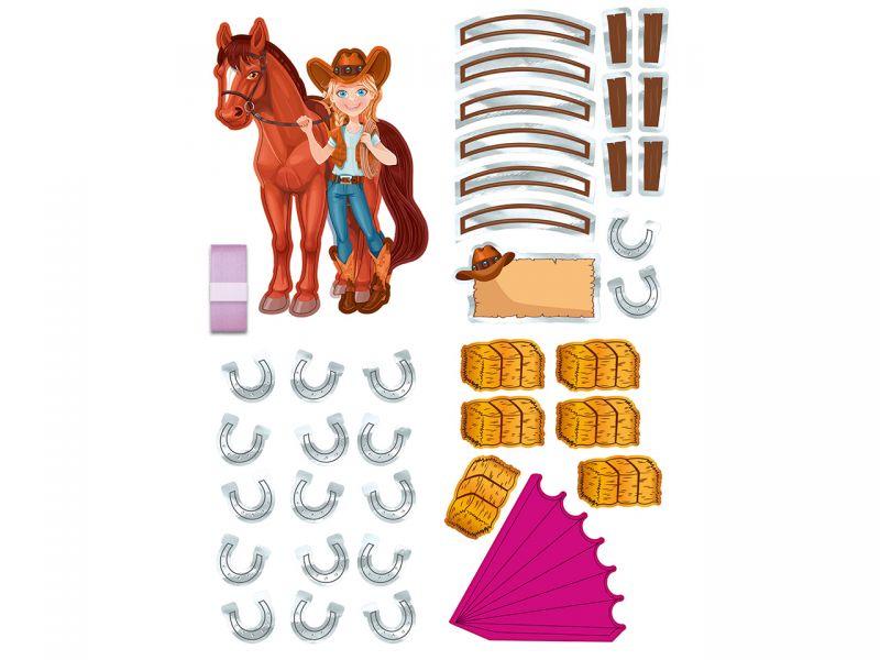 URSUS Dekorations-Set »Pferd und Reiterin«